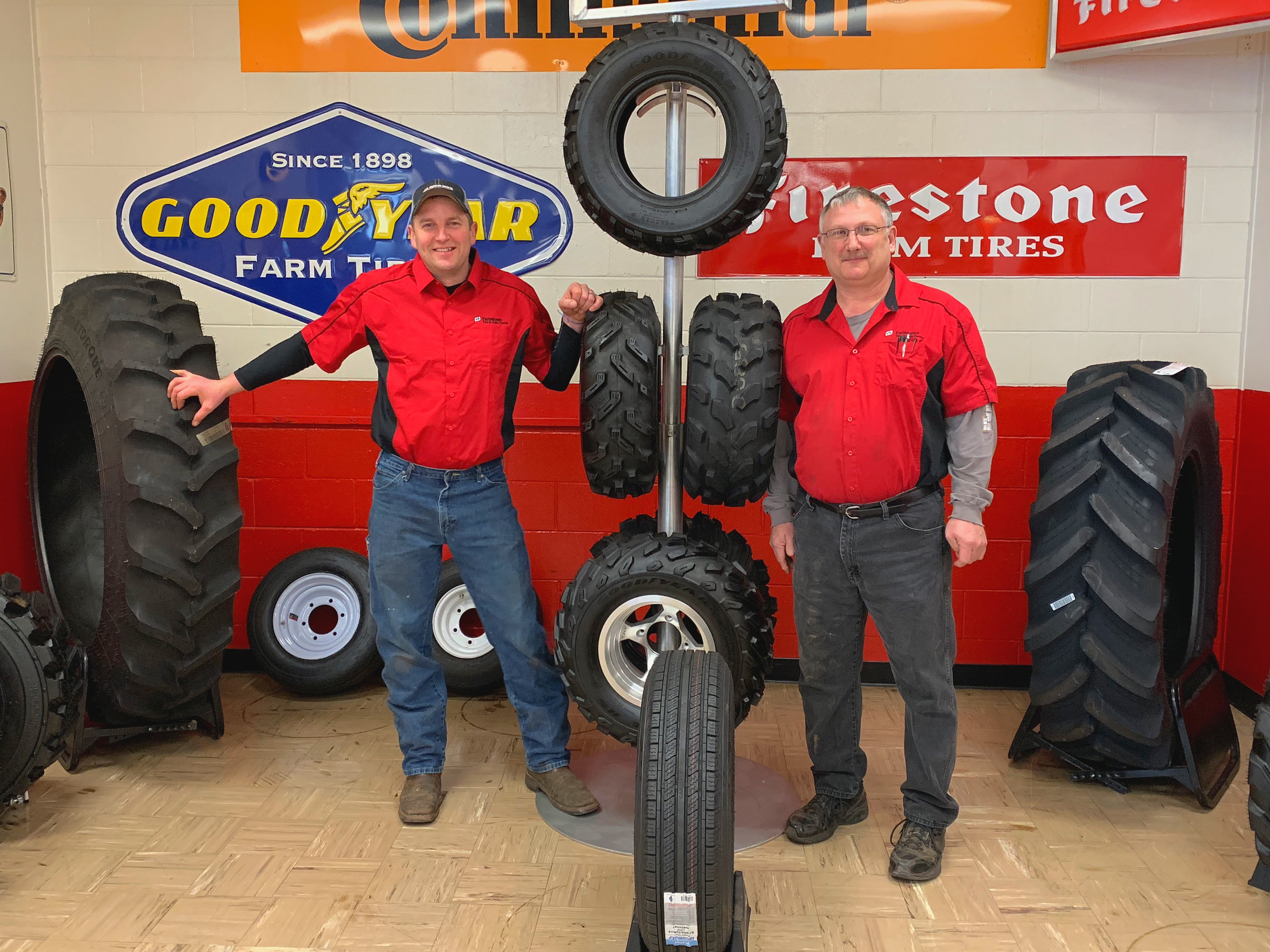 Bryan and Randy Tires